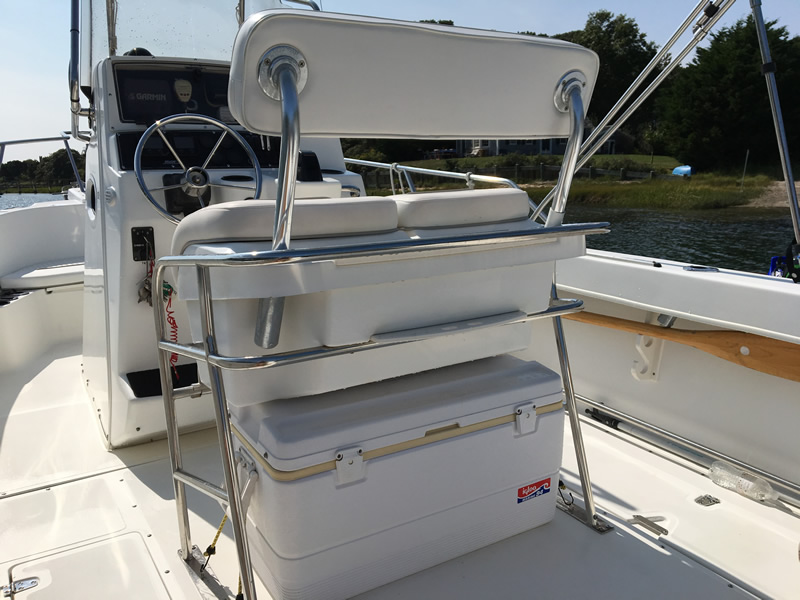 Oyster River Boat Yard 2000 21 Boston Whaler Outrage