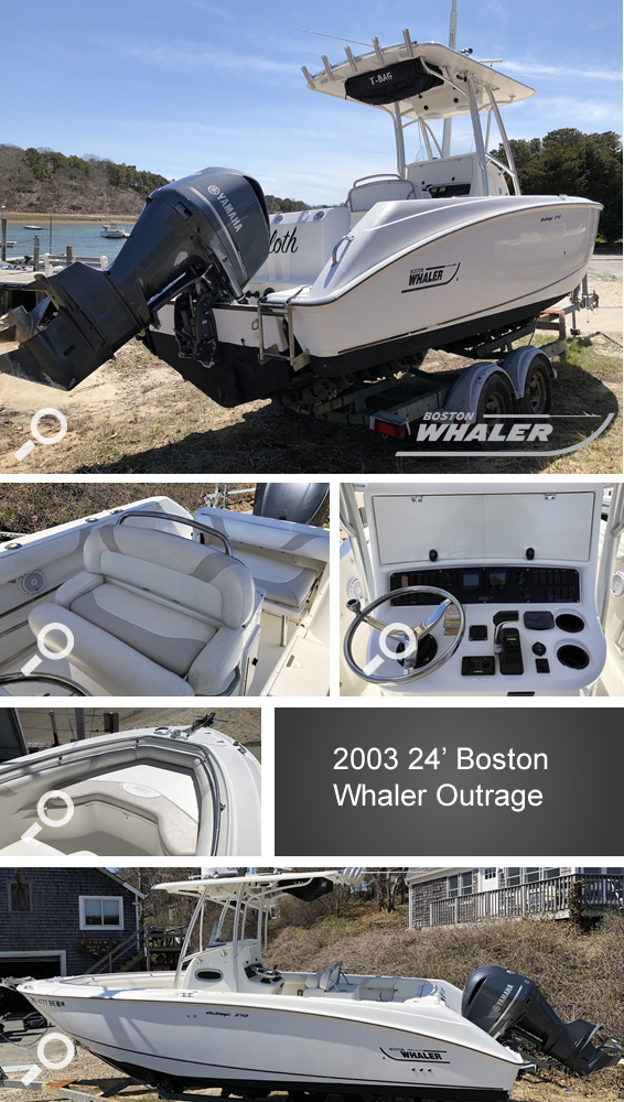 Oyster River Boat Yard - 2003 24' Boston Whaler Outrage